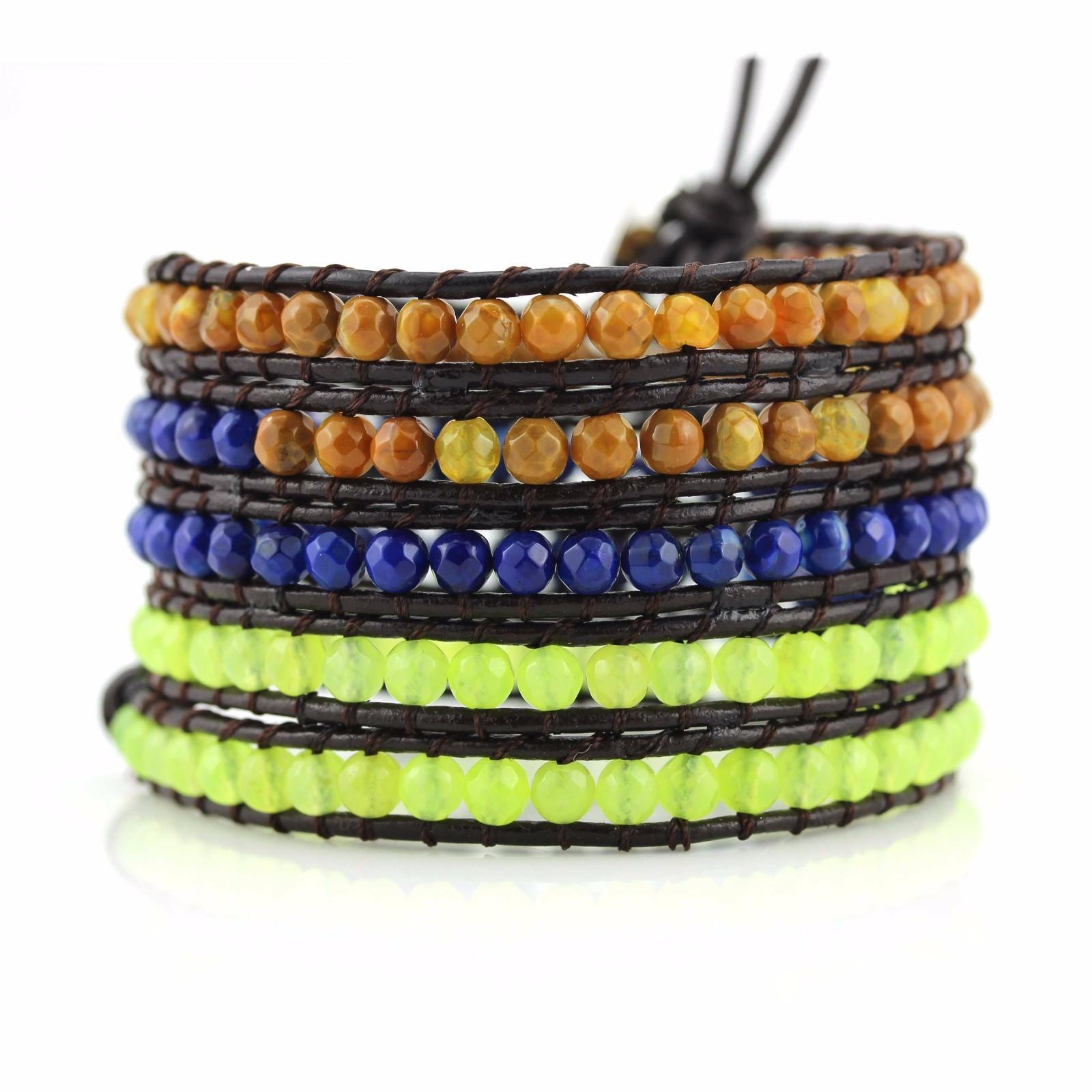 womens cuff bracelet wraps beads OEM boho wrap bracelet TTT Jewelry