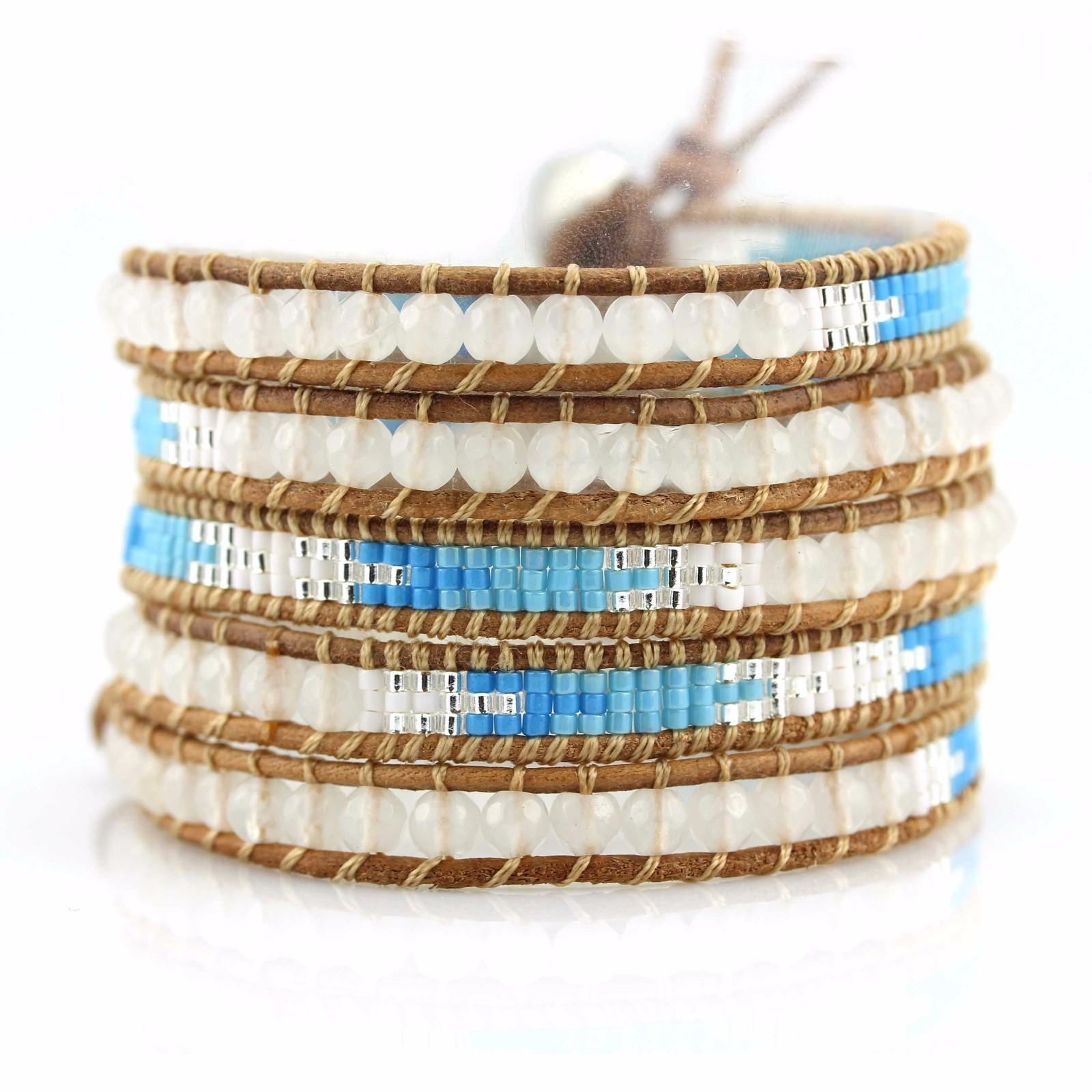 TTT Jewelry Brand seed natural genuine boho wrap bracelet bracelet