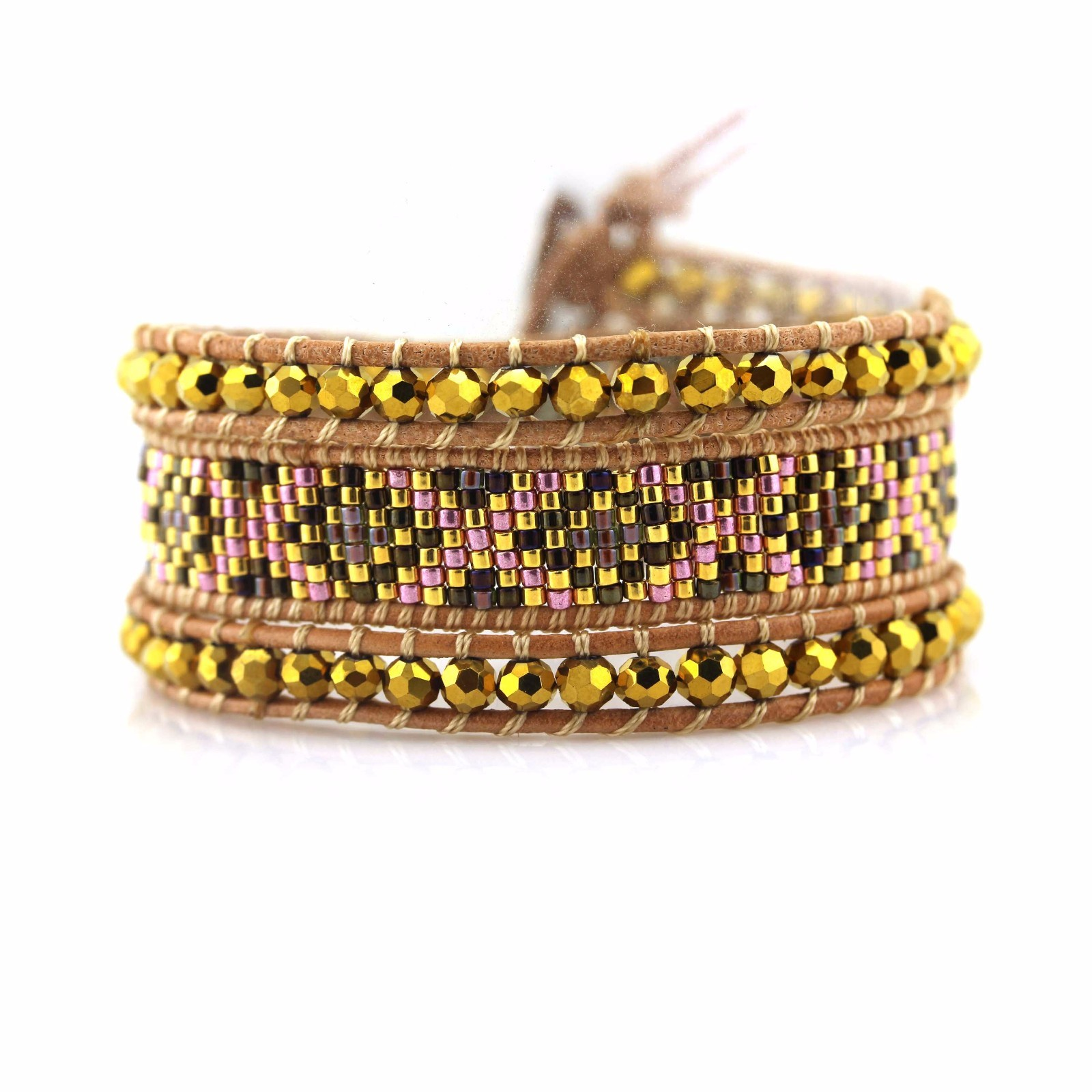 shop fashion bracelets stone handcrafted chan luu wrap bracelet TTT Jewelry Warranty