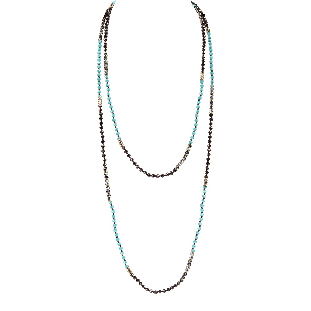 pearl and crystal necklace bead necklace tassel crystal Bulk Buy