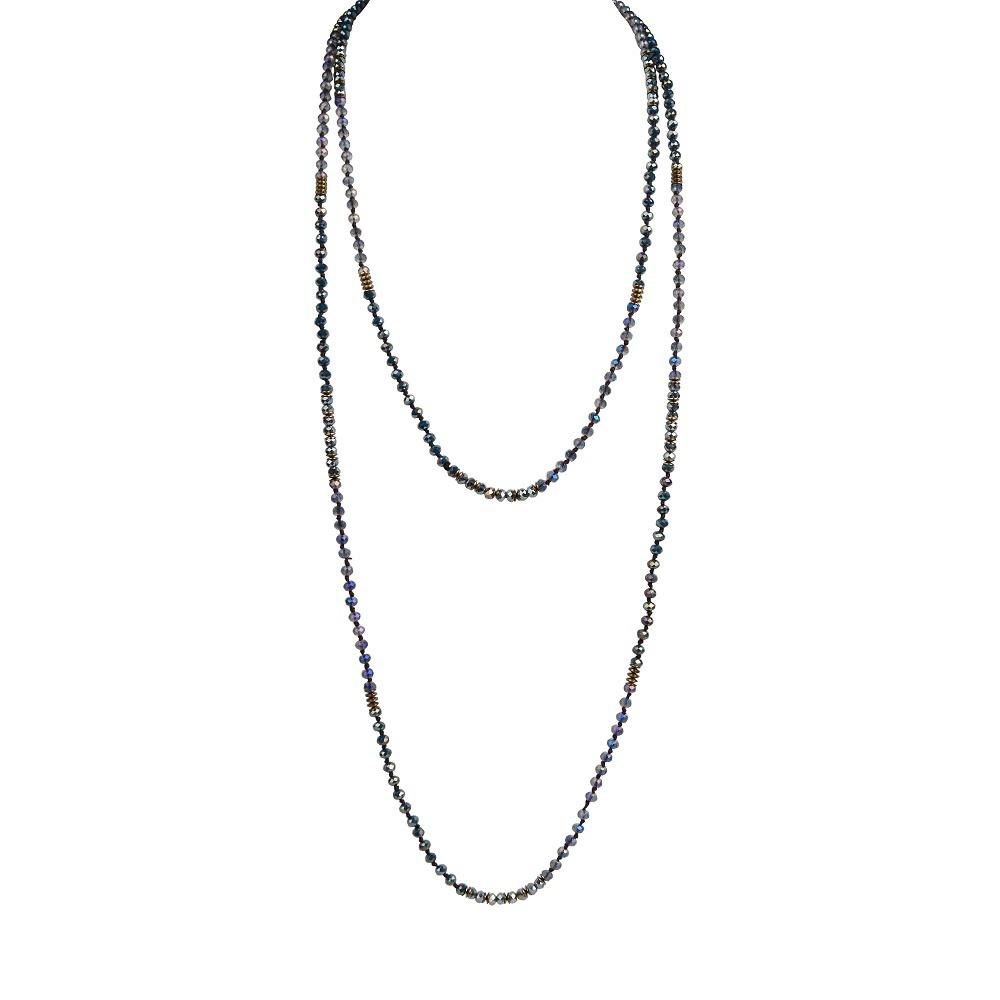 TTT Jewelry Brand colorful handmade tassel crystal necklace
