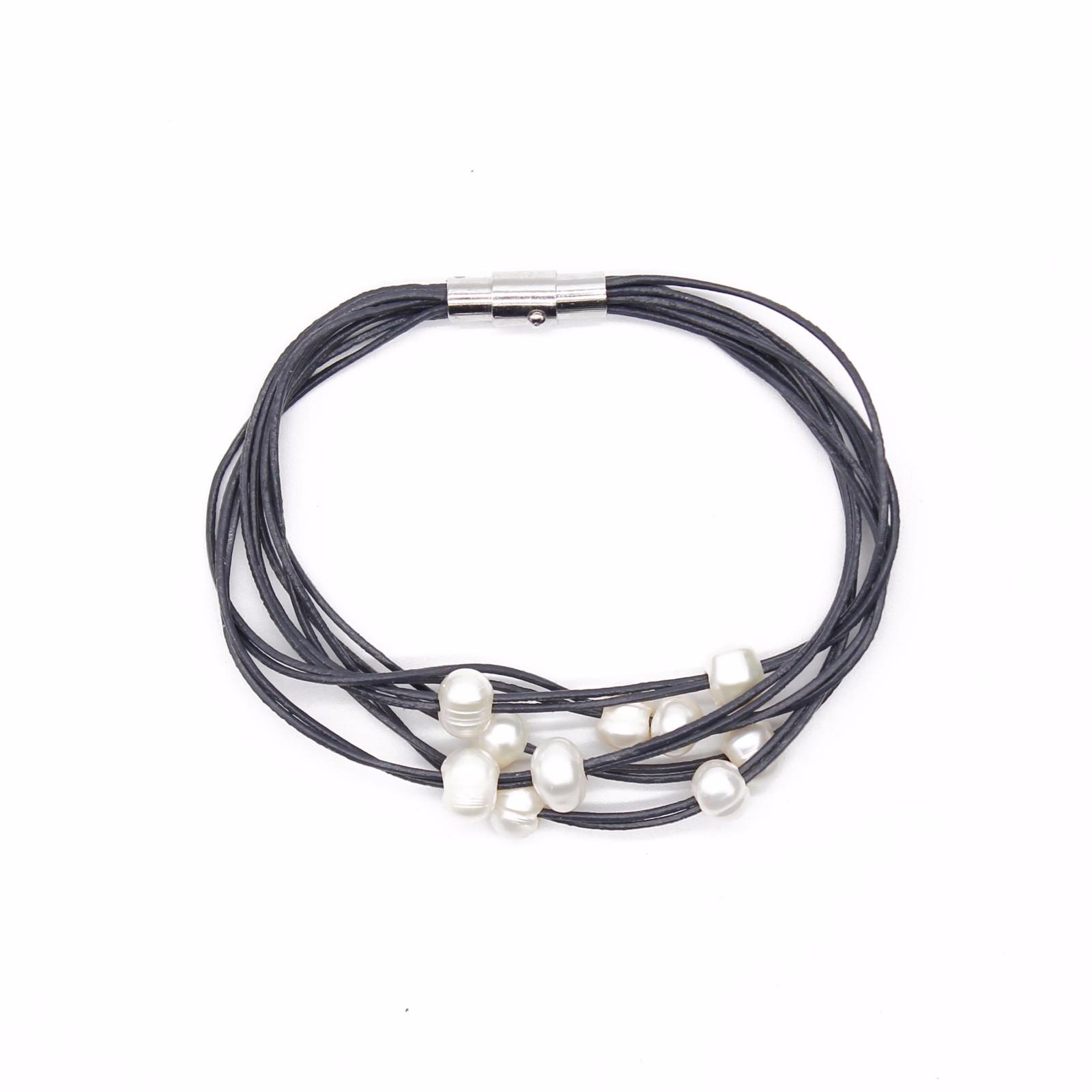 pearl handmade 3 pearl bracelet wraps TTT Jewelry