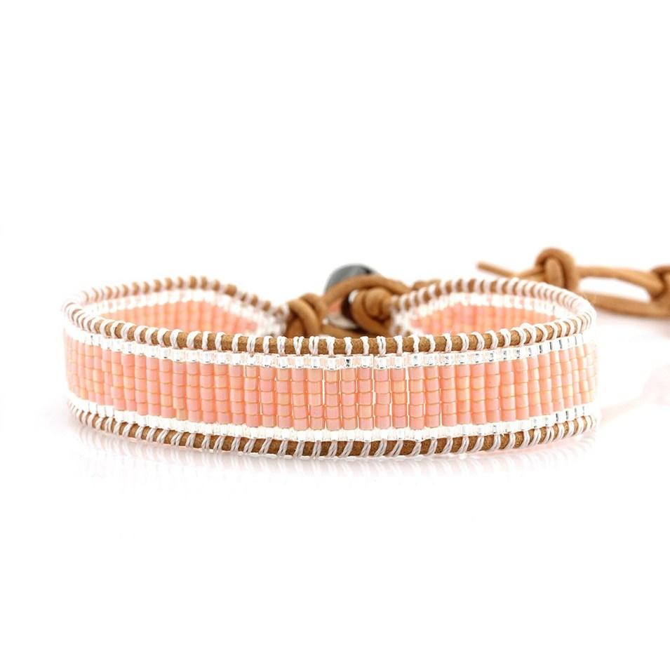 Japanese Miyuki Seed Beads Simple Wrap Handmade Bracelet