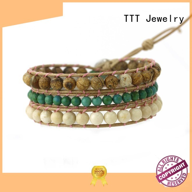 TTT Jewelry Brand blue japanese curved shop fashion bracelets