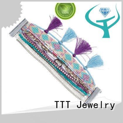 boho handmade jewelry gemstone bracelets TTT Jewelry