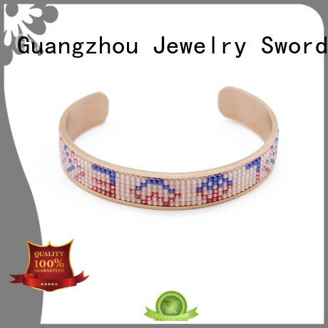 TTT Jewelry custom bracelets for her bangle hollowedout stainless