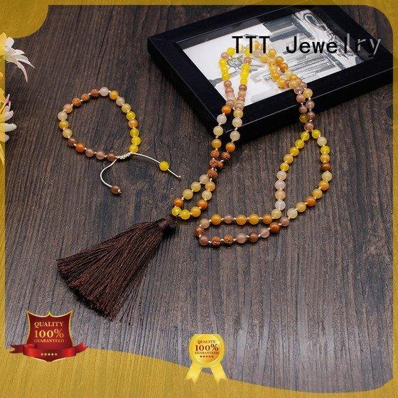 TTT Jewelry bridal necklace meditation metal parts