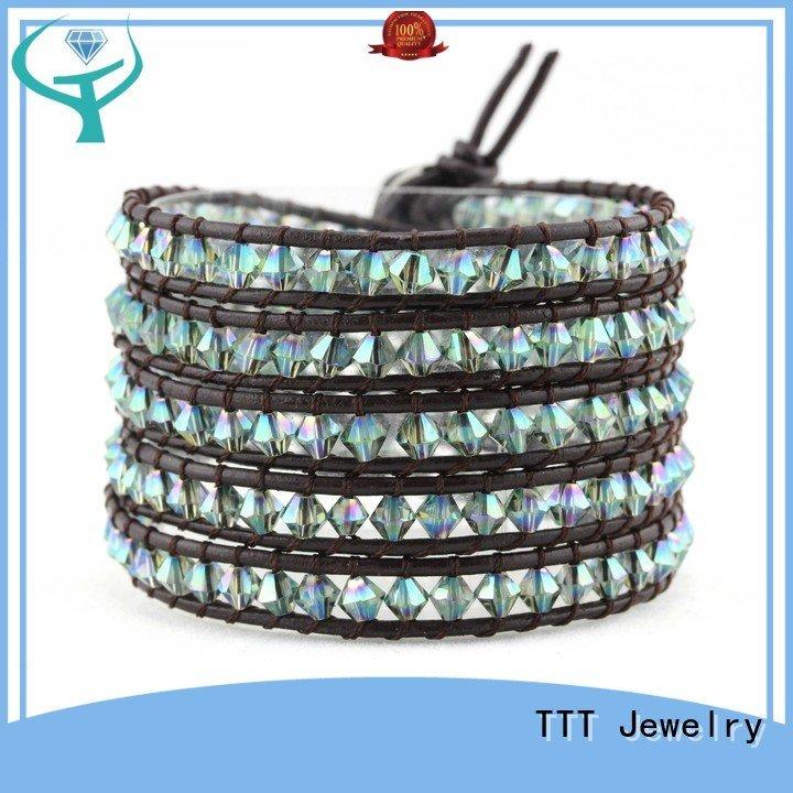 miyuki beads boho wrap bracelet genuine TTT Jewelry