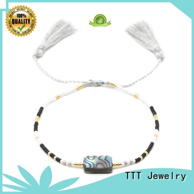 TTT Jewelry Brand stainless custom bracelets for her bracelet supplier