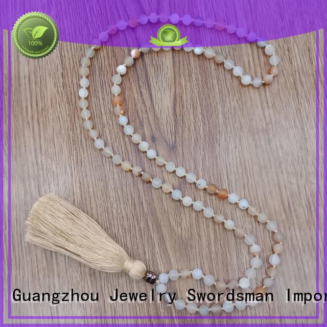 velvet alloy metal meditation TTT Jewelry Brand designer necklaces supplier
