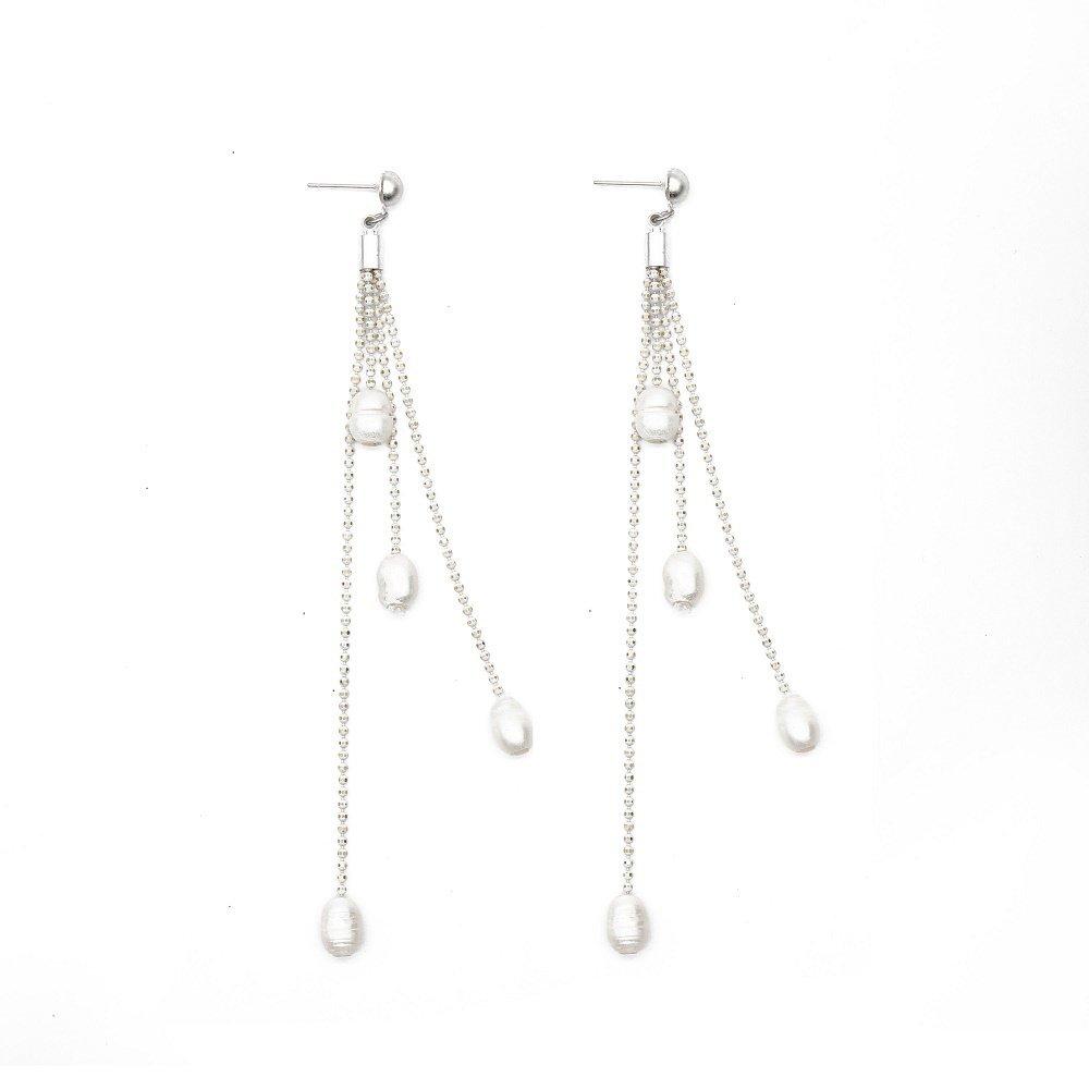 TTT Jewelry Brand pearl handmade pearl earrings earrings fashionable