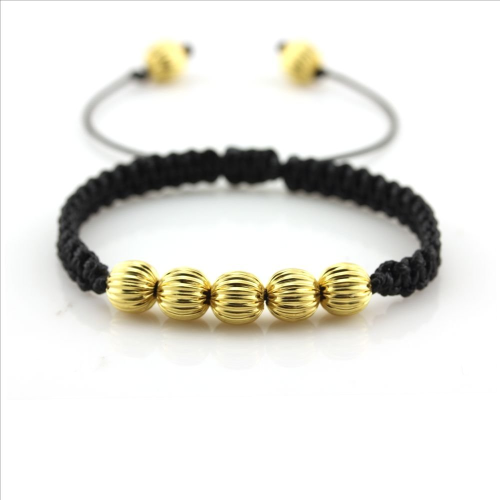 Adjustable Black String Chinese Woven Ball Bracelets for Wealth Friendship Health Wholesale Price