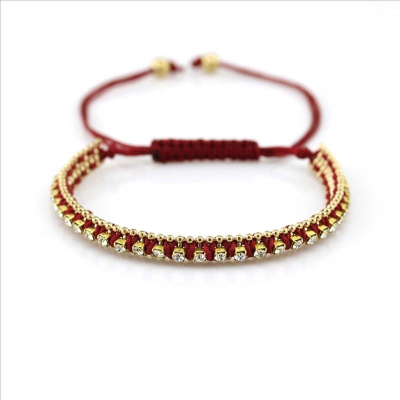 Pure Handmade Kids Christmas Birthday Party Favors Friendship Rope Bracelets