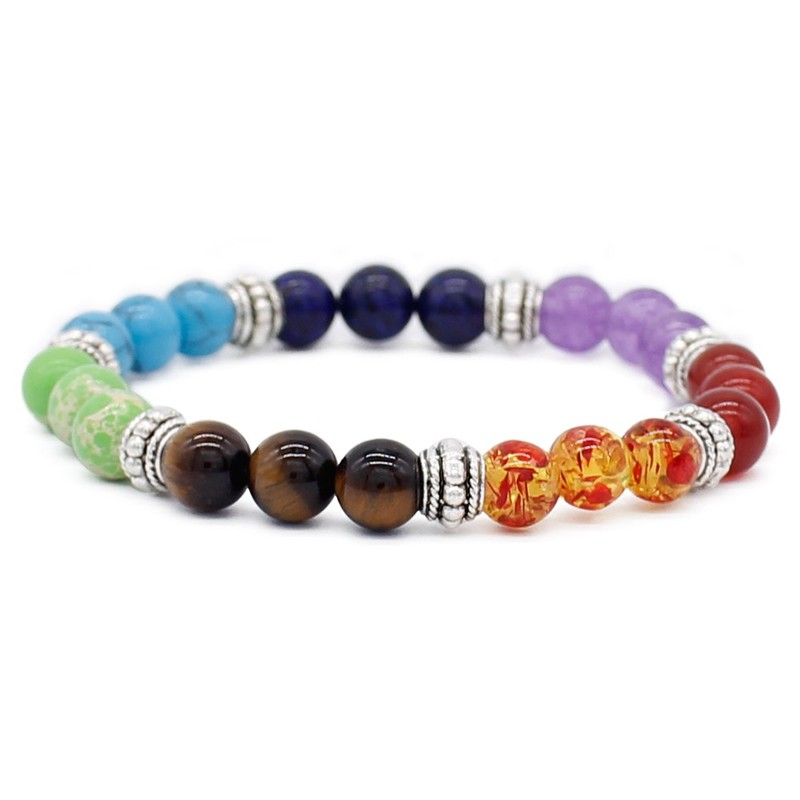 7 Chakra Handmade Bracelet Mental Health Meditation