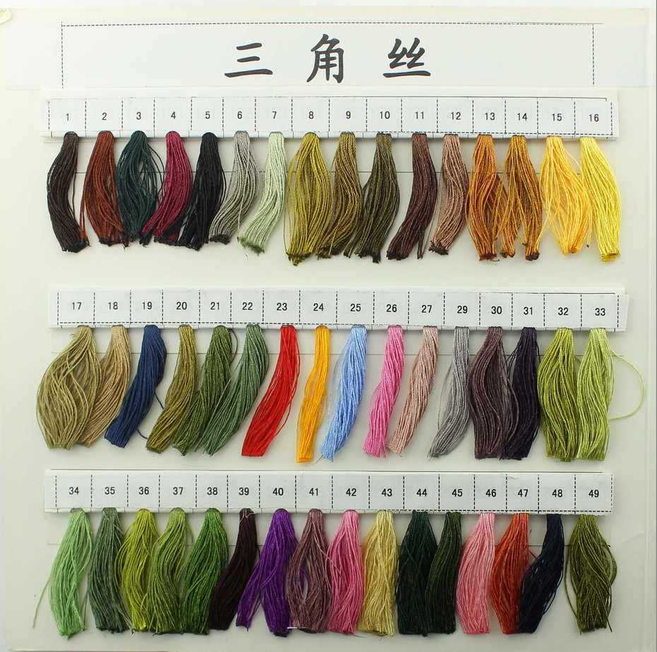 tassel color card