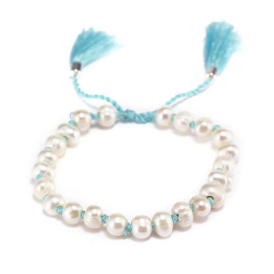 Handmade Fresh Water Pearl Beads Bracelet