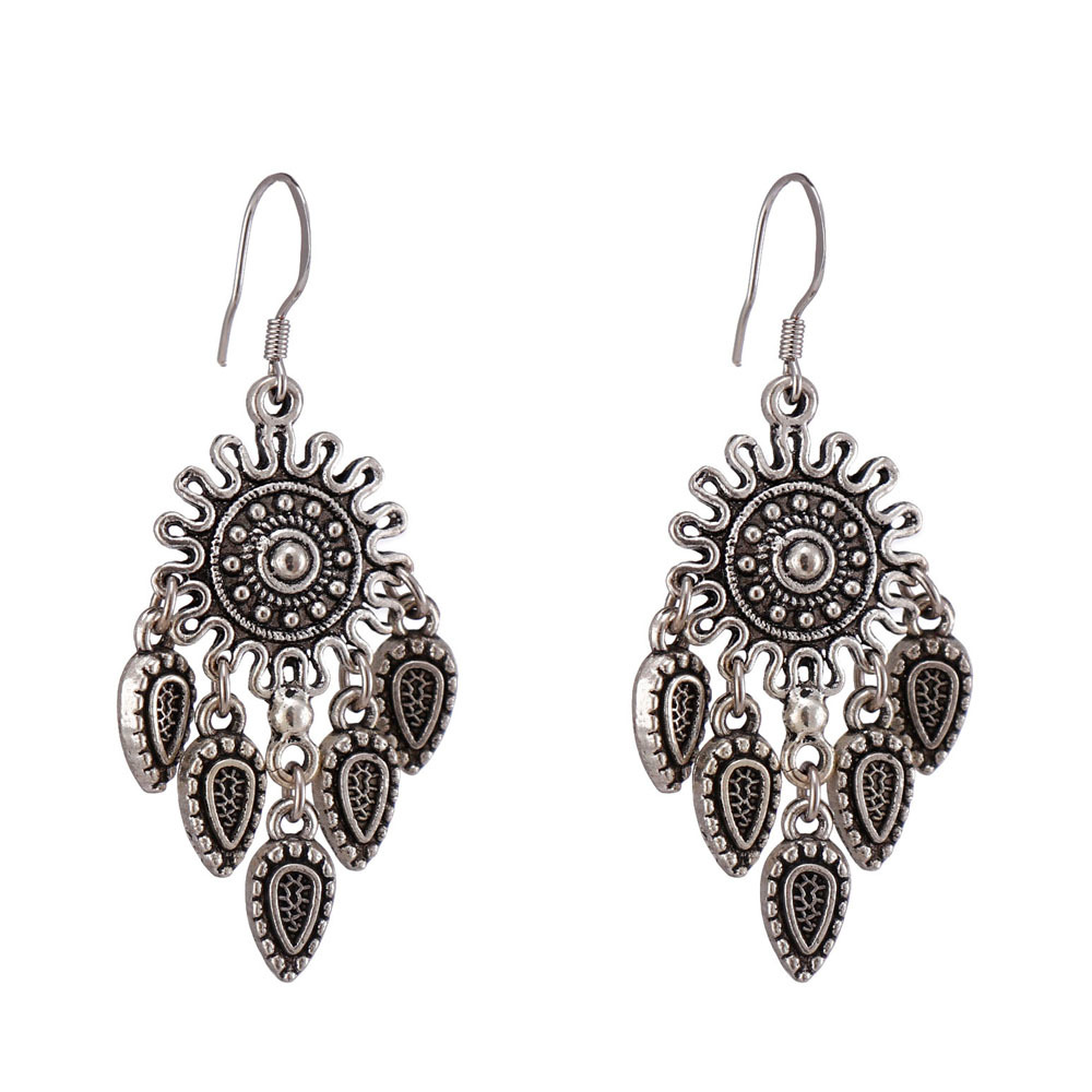 Handmade Alloy Drop Earrings