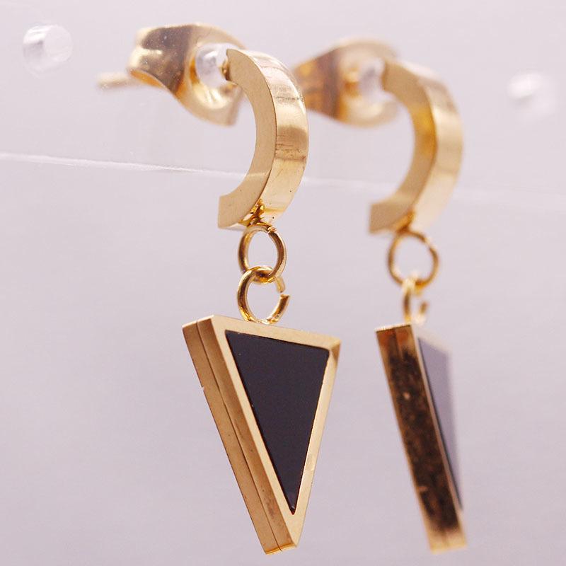 Stainless Steel Tiny Drop Earrings