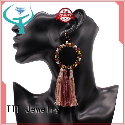 black tassel earrings tassel Bulk Buy fantasy TTT Jewelry
