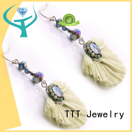 handcrafted unique earrings bulk TTT Jewelry company