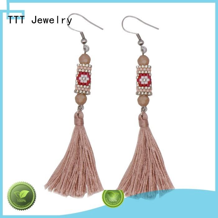 murano glass earrings jewelry earrings handmade TTT Jewelry Brand company