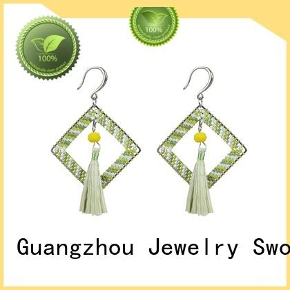 handmade earrings jewelry miyuki murano glass earrings TTT Jewelry Brand