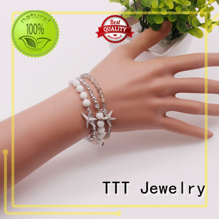 stone bracelet designs stone beads TTT Jewelry Brand company